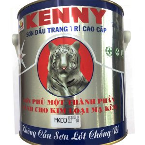 SƠN PHỦ DÙNG CHO KIM LOẠI MẠ KẼM - KENNY ALKYD FOR ZINC