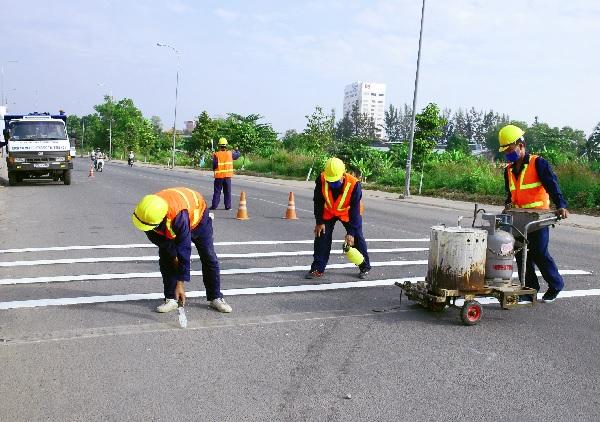 Sơn phản quang ứng dụng trong giao thông