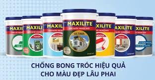 Các loại sơn Maxilite có trên thị trường hiện nay