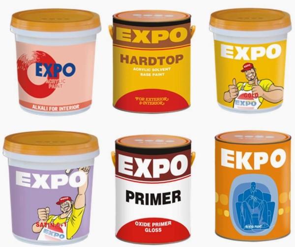 Có nên sử dụng sơn expo không