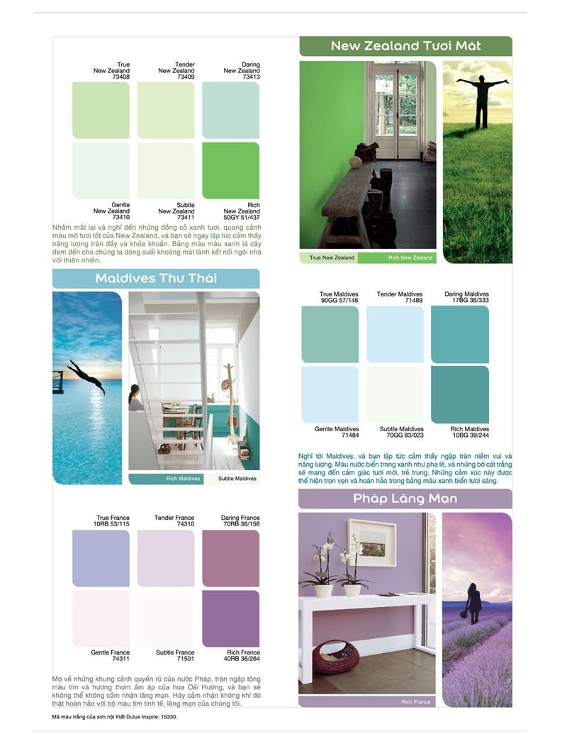 Màu sơn tạo nên không gian sống mới