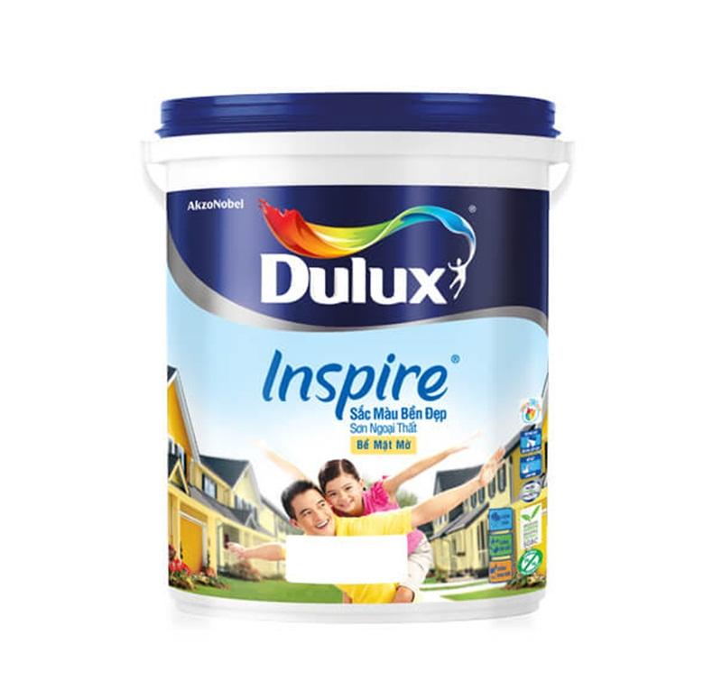 Sơn Dulux Inspire ngoại thất láng mịn