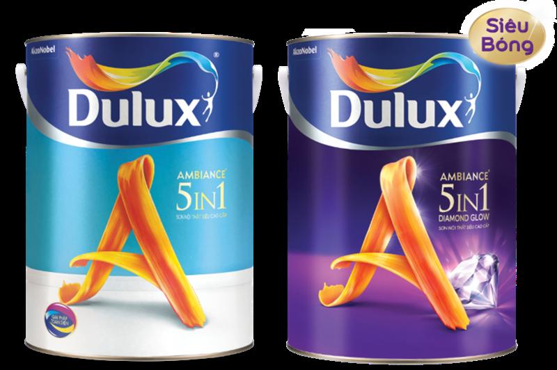Sơn phủ nội thất Dulux Ambiance 5 in 1