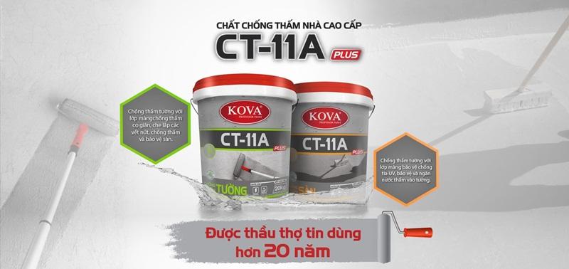 Chất CT-11A có khả năng chống thấm ưu việt