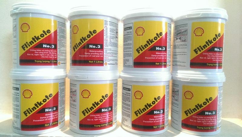 Shell Flintkote No3 là giải pháp chống thấm hoàn hảo