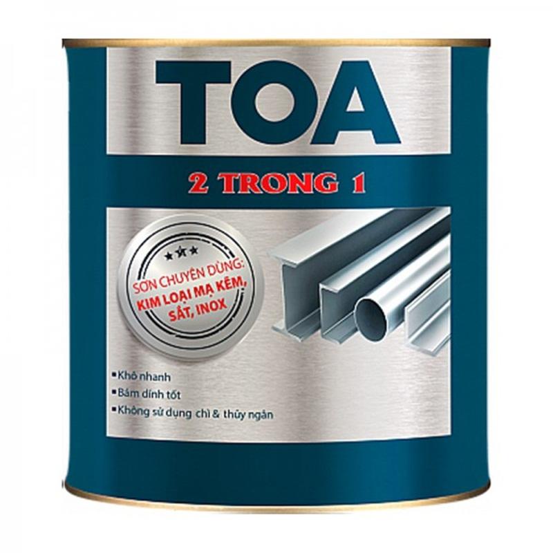 Sơn dầu Toa - một trong những sản phẩm được ưa chuộng nhất thị trường hiện nay